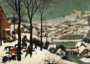 Jagers in de sneeuw / De terugkeer van de jagers (1565) - Pieter Bruegel de Oude
