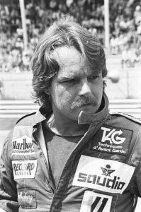 Keke Rosberg in Zandvoort 1982