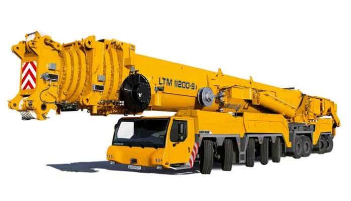 Top 10 Grootste voertuigen in de bouw ter wereld: LTM11200-9.1