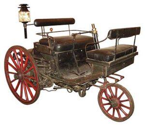 Peugeot Type 1 uit 1889, de eerste en laatste stoomaangedreven Peugeot