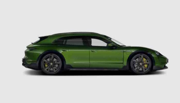 Top 10 snelste stationwagens 2021 ter wereld: Porsche Taycan Turbo S Cross Turismo