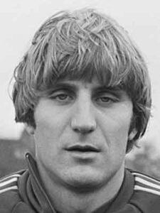 Jan Ceulemans bij de nationale ploeg (1980).