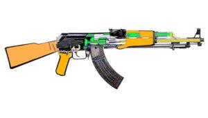 AK 47 van Chinese makelij