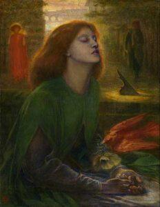 Beata Beatrix (circa 1864 - 1870) - Dante Gabriel Rossetti