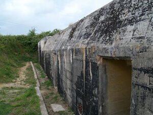 Bunker bij de Batterij van Maisy
