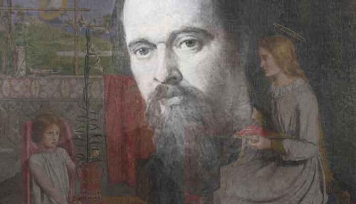 Dante Gabriel Rossetti zijn bekendste schilderijen
