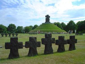 Duitse militaire begraafplaats in La Cambe