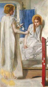 Ecce Ancilla Domini! (1849 - 1850) - Dante Gabriel Rossetti