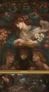 The Blessed Damozel (1875 - 1878) - Dante Gabriel Rossetti