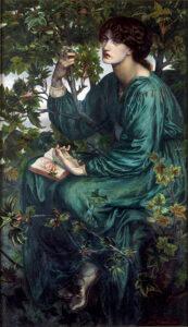 The Daydream (1880) - Dante Gabriel Rossetti