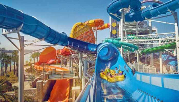Grootste waterparken ter wereld: Aquaventure Waterpark, Dubai (VAE)