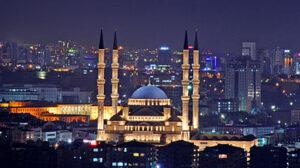 Kocatepe-moskee in Ankara