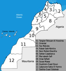 Marokko en regio's