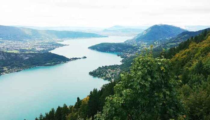 Mooiste meren in Frankrijk: Lac d'Annecy (Haute-Savoie)