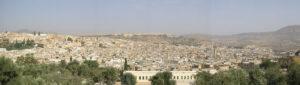 Panoramafoto van Fez