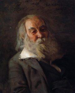 Portrait of Walt Whitman (1887-88) - Thomas Eakins