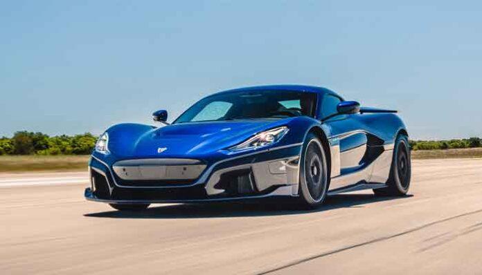 Top 10 snelst accelererende productieauto ter wereld: Rimac Nevera