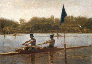 The Biglin Brothers Turning the Stake-Boat (1873) - Thomas Eakins