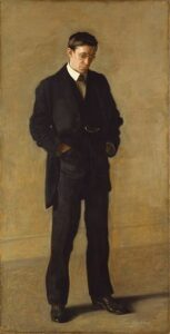 The Thinker (Portrait of Louis N. Kenton) (1900) - Thomas Eakins