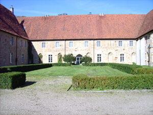 Binnenplaats klooster Bentlage