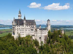 Slot Neuschwanstein, Hohenschwangau, Beieren