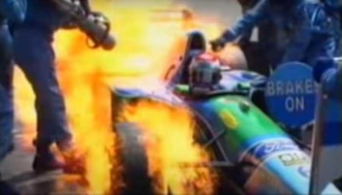 Top 10 slechtste pitstops Formule 1 aller tijden