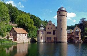 Schloss Mespelbrunn, Mespelbrunn, Beieren