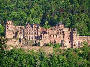 Slot Heidelberg, Heidelberg, Baden-Württemberg