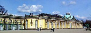 Slot Sanssouci, Potsdam, Brandenburg