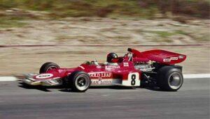 Beste Lotus Formule 1 raceauto's: Emerson Fittipaldi, Lotus 72