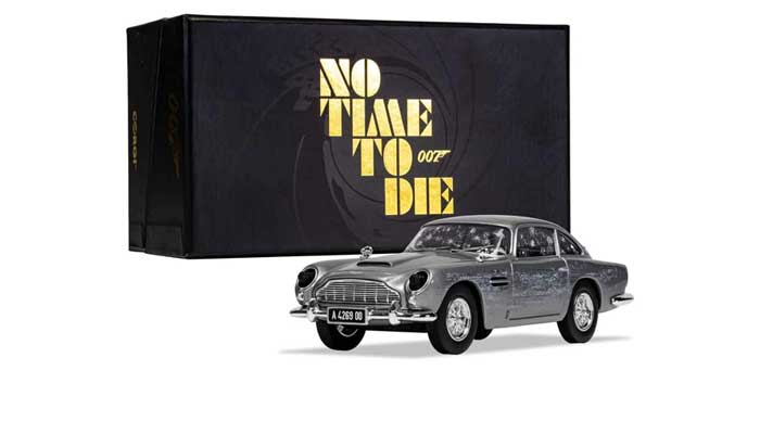 Top 10 auto's in de James Bond film No time to die