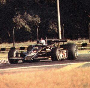 Lotus 78 met Andretti achter het stuur