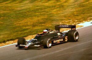 Lotus-Ford 79 met Mario Andretti