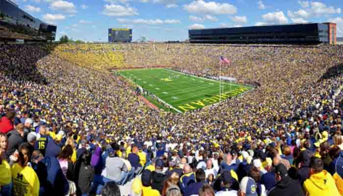 Top 50 grootste NFL stadions in de Verenigde Staten