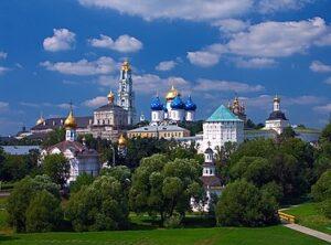 Trinity Lavra of St. Sergius, Sergiyev Posad, Moskou Oblast, Rusland